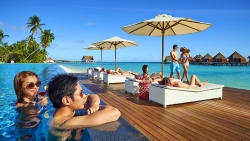 STAY 5 NIGHTS OVERWATER SUNSET POOL VILLA ON BED AND BREAKFAST BASIS