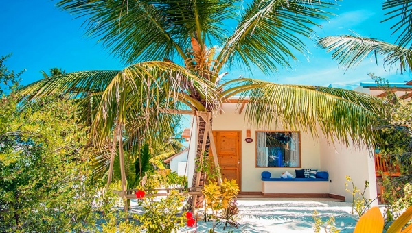 STAY 5 NIGHTS WATER VILLA ON HALF BOARD BASIS
