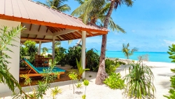 STAY 5 NIGHTS WATER VILLA WITH POOL ON HALF BOARD BASIS