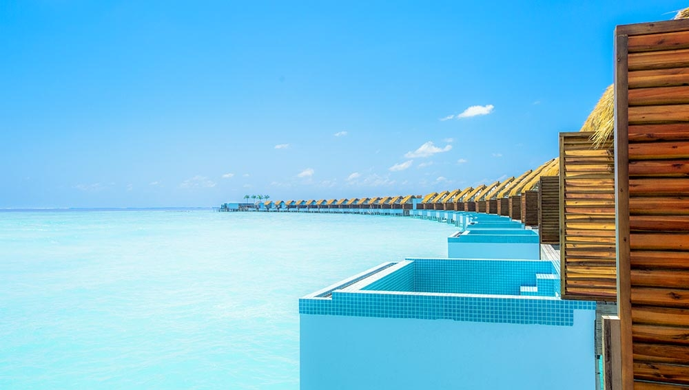 STAY 3 NIGHTS BEACH VILLA WITH POOL PLUS 2 NIGHTS WATER VILLA WITH POOL