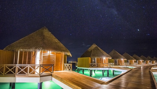 STAY 5 NIGHTS OVER-WATER VILLA