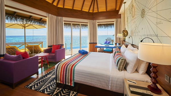 STAY 5 NIGHTS OVER WATER VILLA (BB)